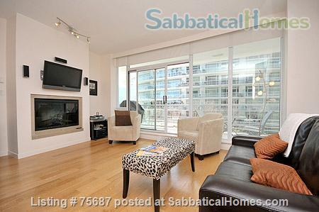 Resort living in the city, Contemporary 1 Bedroom & Den with views of Victoria Inner Harbour                                                          Home Rental in Victoria, British Columbia, Canada 2